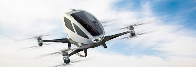 Porsche тоже хочет выпускать летающие такси-дроны