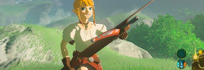 Мод Zelda: Breath of the Wild позволяет играть за Линкл