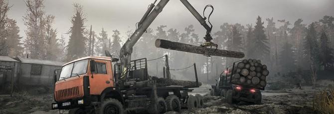 Spintires: MudRunner получил поддержку фанатских карт в Steam Workshop