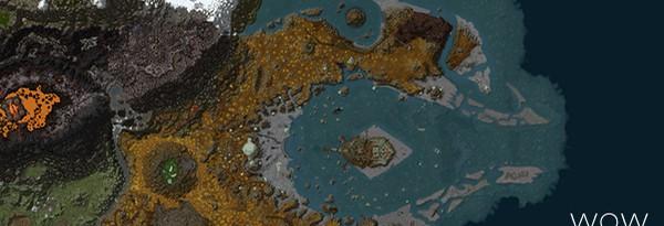 World of Warcraft в Google Maps