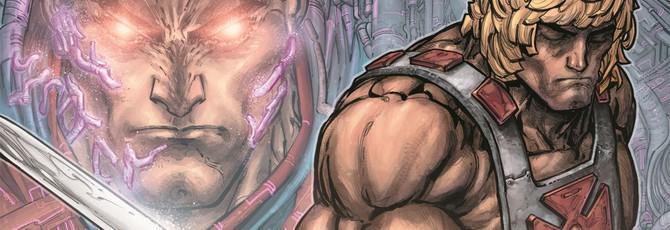 Блог: DC анонсировала кроссовер с участием Хи-Мена и героев Injustice