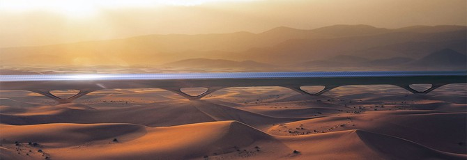 Hyperloop TT построит первый рабочий гиперлуп в Абу-Даби