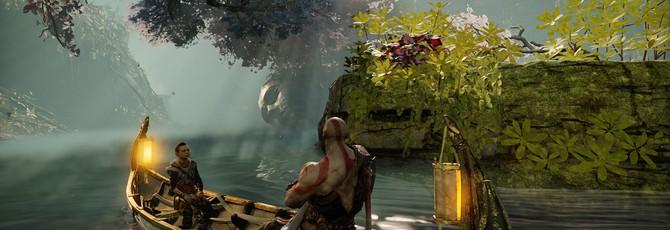 God of War получила патч с возможностью увеличить размер текста