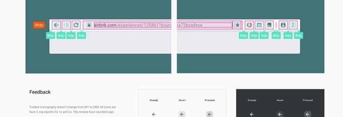 Google поменяет дизайн Chrome под Material Design
