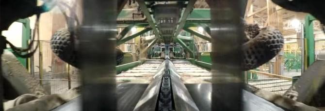 Поездка через лесопилку выглядит как уровень Wolfenstein II