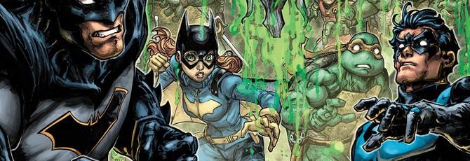Бэтмен и Черепашки-ниндзя против преступности в кроссоверах