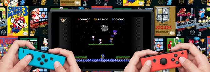 Облачные сохранения и NES-тайтлы для онлайн-сервиса Switch