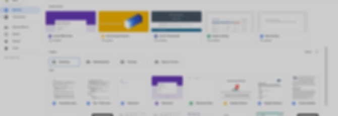 Новый редизайн Drive в стиле Gmail