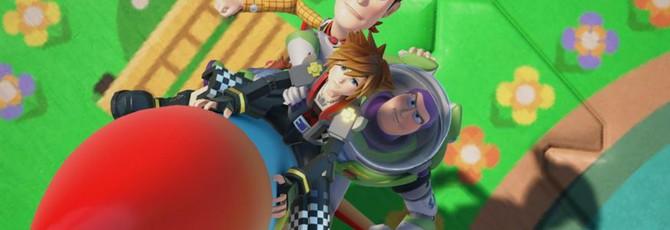 Новый геймплей и скриншоты Kingdom Hearts 3