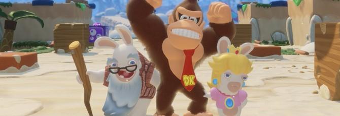 Геймплейный трейлер и детали дополнения Donkey Kong для Mario + Rabbids Kingdom Battle