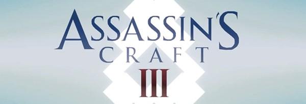 Трейлер Assassin's Creed 3 в стиле Minecraft