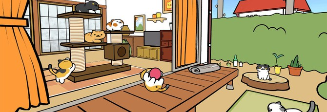 Neko Atsume VR — самая милая игра на PS VR