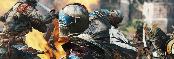 Новый восточный боец в ролике о For Honor