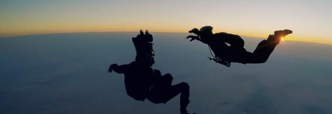 """Как снимали прыжок с парашютом из фильма """"Миссия невыполнима: Последствия"""""""