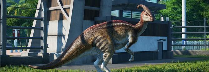 Для Jurassic World: Evolution выйдет дополнение с динозаврами из фильма
