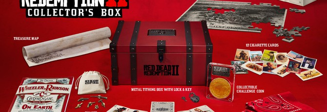 Rockstar показала все издания RDR2