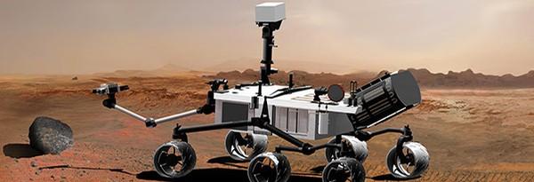 """Mars Rover успешно сел на """"красную планету"""""""