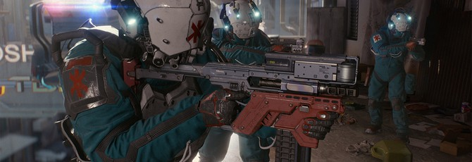 Описание персонажей из демо Cyberpunk 2077 на E3 2018