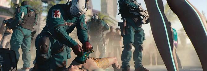 Спекулянты просят 500 долларов за бесплатную фигурку Cyberpunk 2077 с E3 2018