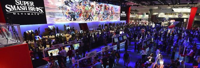 Толпы зрителей на E3 2018, увидимся на E3 2019