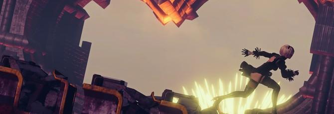 20 минут геймплея Nier: Automata на Xbox One X демонстрируют лучшую версию игры