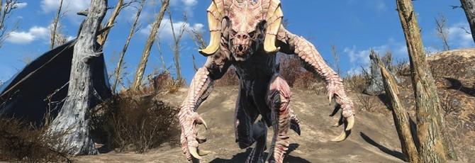 Фигурка Когтя Смерти из Fallout больше метра в длину