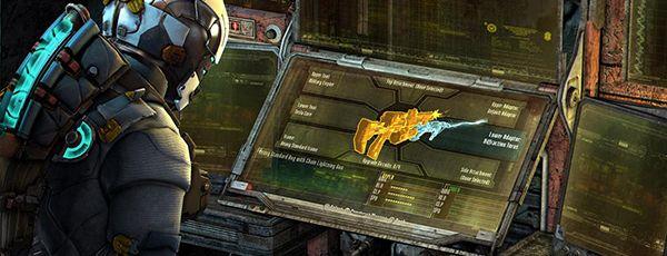 Крафтинг оружия в Dead Space 3