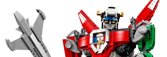 В августе можно будет собрать Вольтрона из LEGO