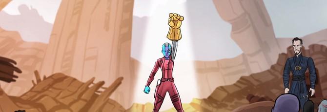 """Как мог бы закончится блокбастер """"Мстители: Война бесконечности"""""""
