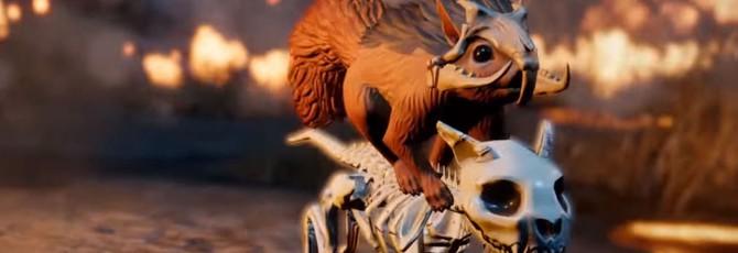 Белка-рыцарь в новом трейлере Divinity: Original Sin 2