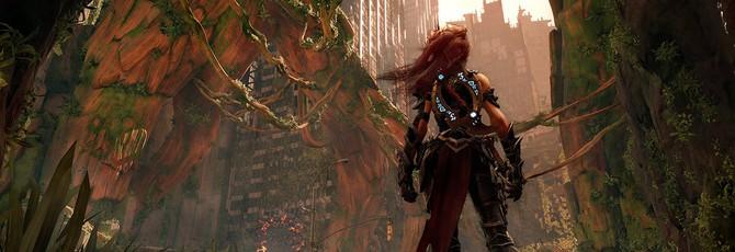 Бой с боссом в новом геймплее Darksiders 3
