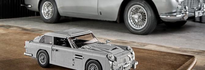 Aston Martin Джеймса Бонда из LEGO