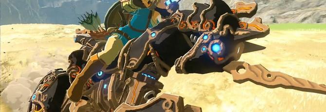 В Mario Cart 8 Deluxe добавили Линка из The Legend of Zelda: Breath of the Wild