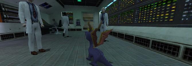 Этот мод для Half-Life заменит Гордона Фримена на дракончика Спайро