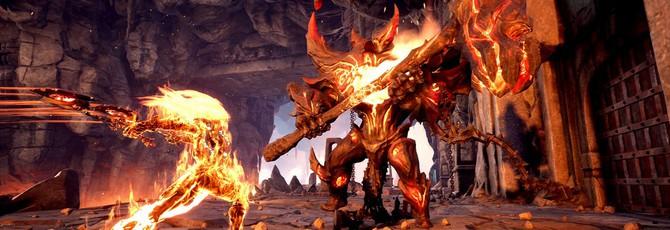 Ярость получает огненную форму в новом ролике Darksiders III
