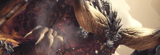 Первый геймплей PC-версии Monster Hunter: World на максимальных настройках графики