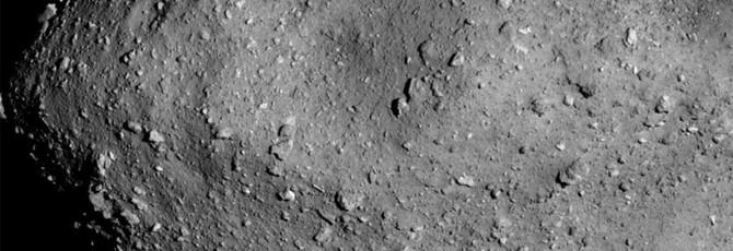 Японский космический аппарат сделал детальное фото астероида Ryugu