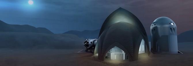 Финалисты конкурса NASA показали модели жилых строений для колонии на Марсе