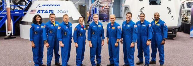 NASA объявила первую группу астронавтов для полетов на американских ракетах