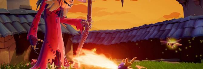 Локация Хуррикос из Spyro 2 выглядит шикарно в ремастере