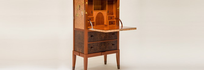 Этот деревянный кабинет скрывает невероятный пазл