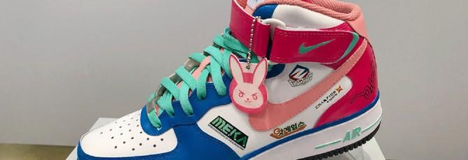 Серия кроссовок Nike в стиле персонажей Overwatch 8ba6dd205efe5