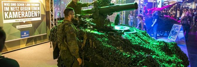 Немецкие вооружённые силы искали новобранцев на gamescom 2018