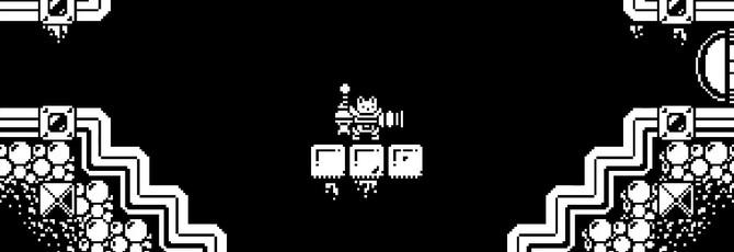 Gato Roboto — черно-белая метроидвания про кота в скафандре