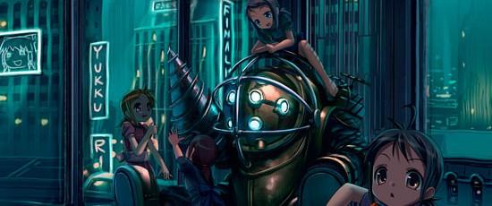 Слух: 2K работает над MMO по вселенной BioShock