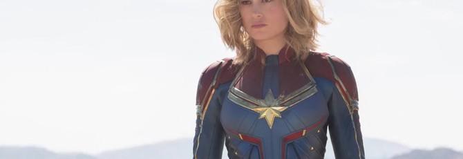"""Первые кадры """"Капитана Марвел"""" с Бри Ларсон в образе главной героини"""
