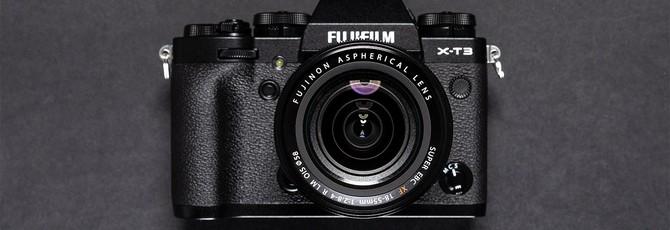 Fujifilm анонсировала новую беззеркалку X-T3