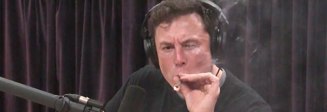Илон Маск покурил марихуаны, выпил виски и намекнул на электрический самолет