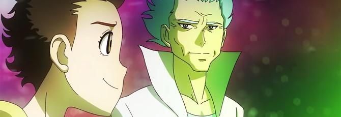 """Если бы сериал """"Рик и Морти"""" превратили в аниме"""