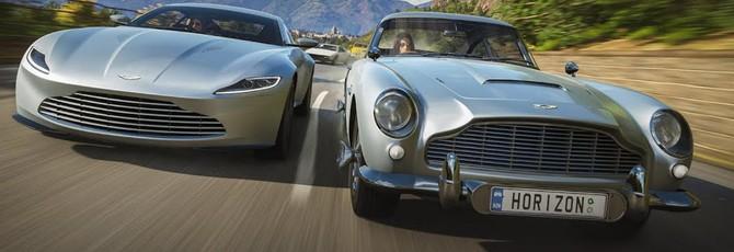 Новый трейлер Forza Horizon 4 посвящен машинам Джеймса Бонда